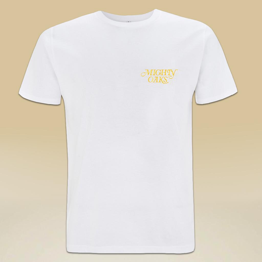 Mighty Oaks Flowers T-Shirt White